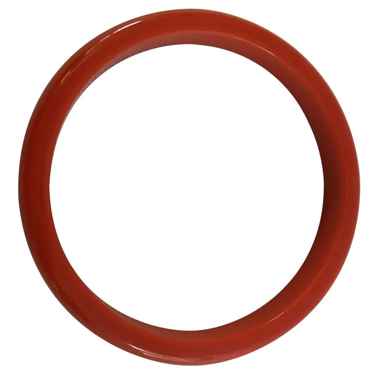 Set of Five or Individual 1963, Autumn Colored Bakelite Bangles! For Sale