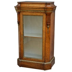 Victorian Pier Cabinet in Walnut