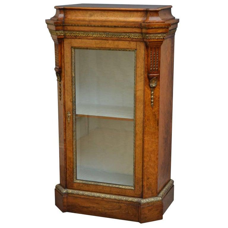 Victorian Pier Cabinet in Walnut