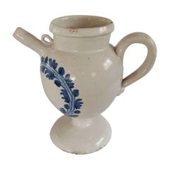 17th Century Faience Never Pitcher