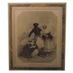 Edward Francis Finden Framed Print