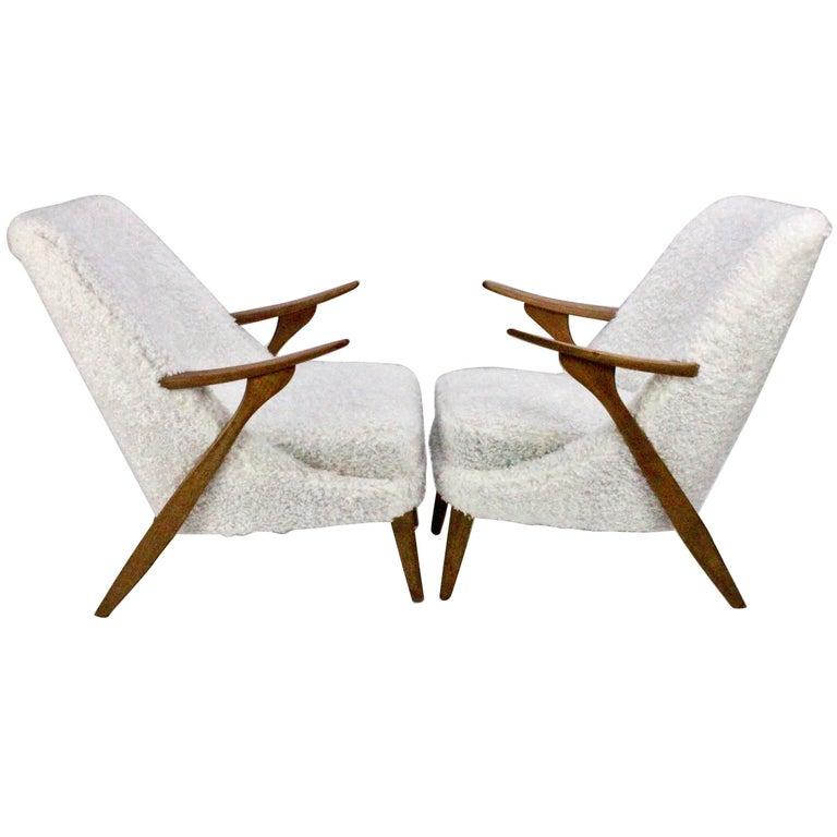 Pair of Scandinavian Modern Lounge Chairs by Svante Skogh for Seffle Möbelfabrik