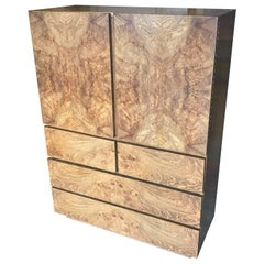 Roland Carter for Lane Burl Wood Cabinet