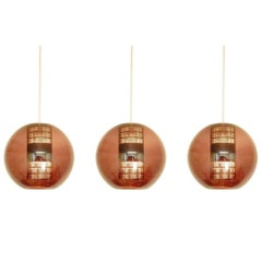 Set of Three Model 'Nt63 E/00' Pendant Lamps by Philips. Netherlands, 1960s