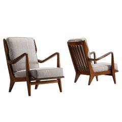 Gio Ponti Armchairs for Cassina, 1950s