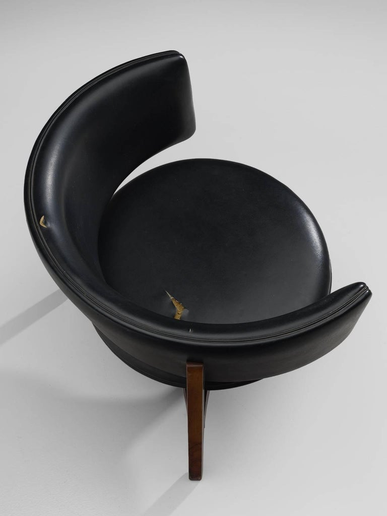 Sven Ellekaer Lounge Chair Denmark, 1962 For Sale at 1stdibs