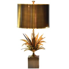 "Charles Paris ""Agave a Gorge"" Table Lamp"