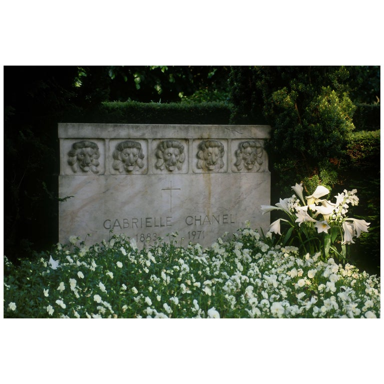 "Final Resting Place of Gabrielle ""Coco"" Chanel by Gregg Felsen"