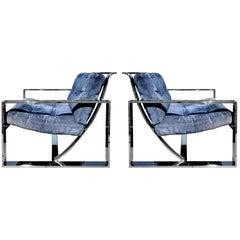 Lounge Chairs by Milo Baughman