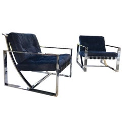 Lounge Chairs by Milo Baughman