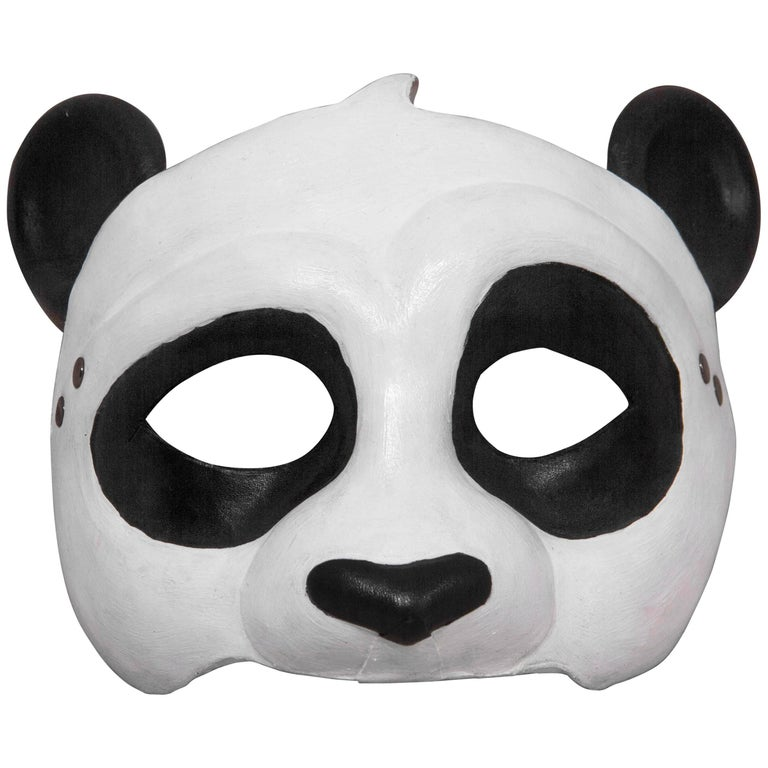 Leather Panda Mask 1