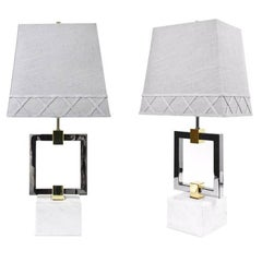 Nixon Brass and Nickel Table Lamp