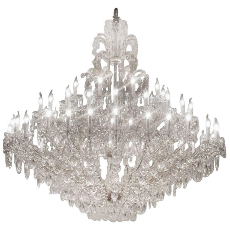 Large maria therese chandelier with 60 lights 21st century for sale this major and beautiful maria therese chandelier with 60 lights is more then impressive custom aloadofball Choice Image