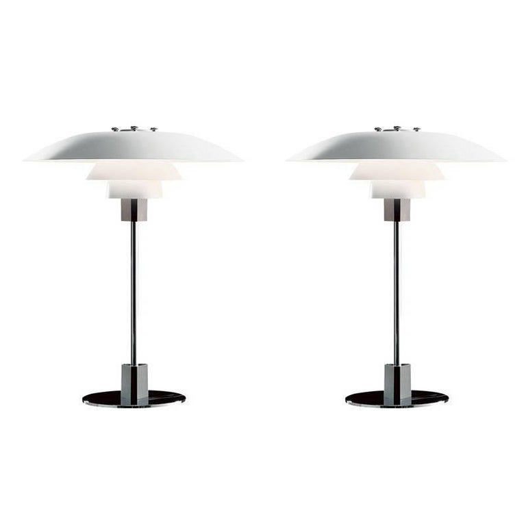Poul Henningsen PH 4/3 Table Lamp for Louis Poulsen