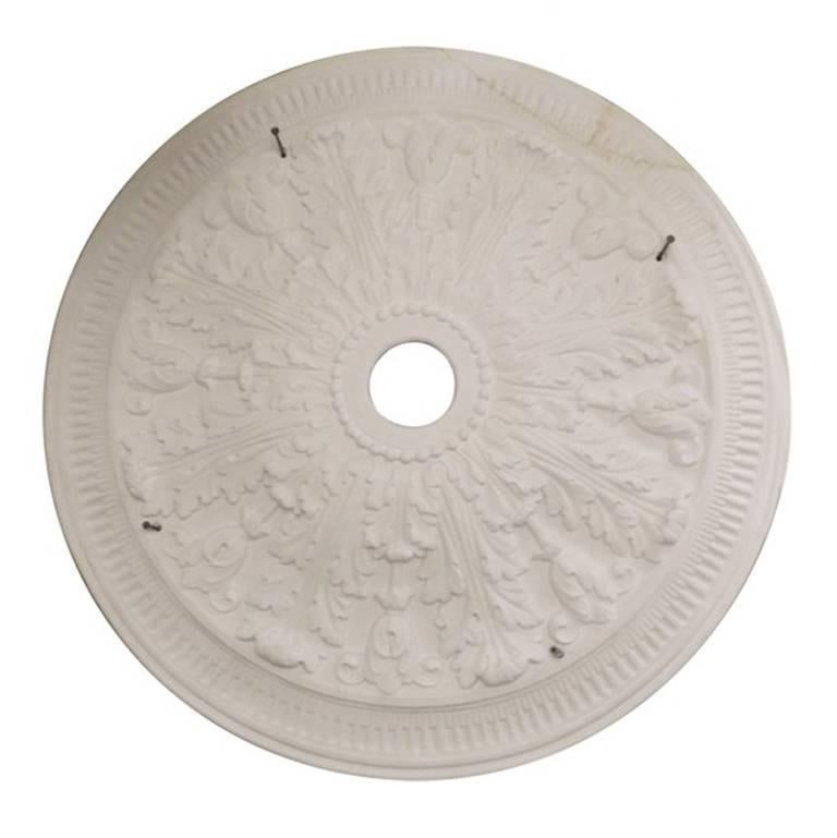 """""""Large Acanthus"""" Plaster Ceiling Medallions"""