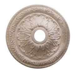"""Floral Trellis"" Plaster Ceiling Medallions"