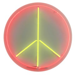 Round Wall Neon Custom Sign for Weselman Design
