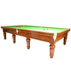 Billiard, Snooker Table Made for the 5th Earl of Hardwicke