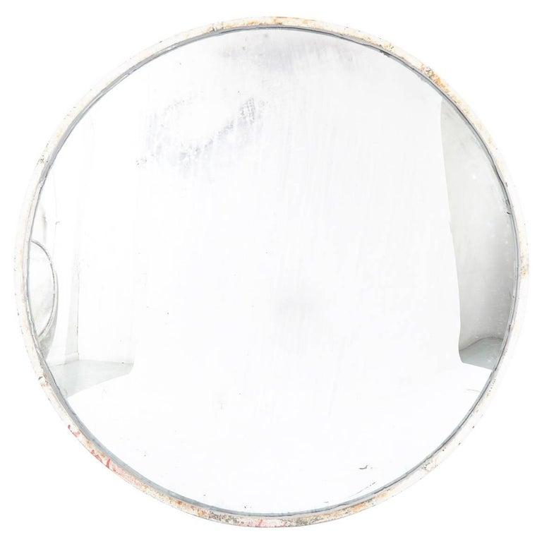 Huge Industrial Convex Mirror No. 2 in Original Condition