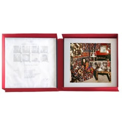 Around That Time Portfolio #1. 8 Archival Pigment Prints Matted Encased in a Box