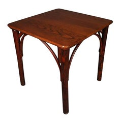 Antique Bentwood Old Hickory Adirondack Style Side Table, 19th Century