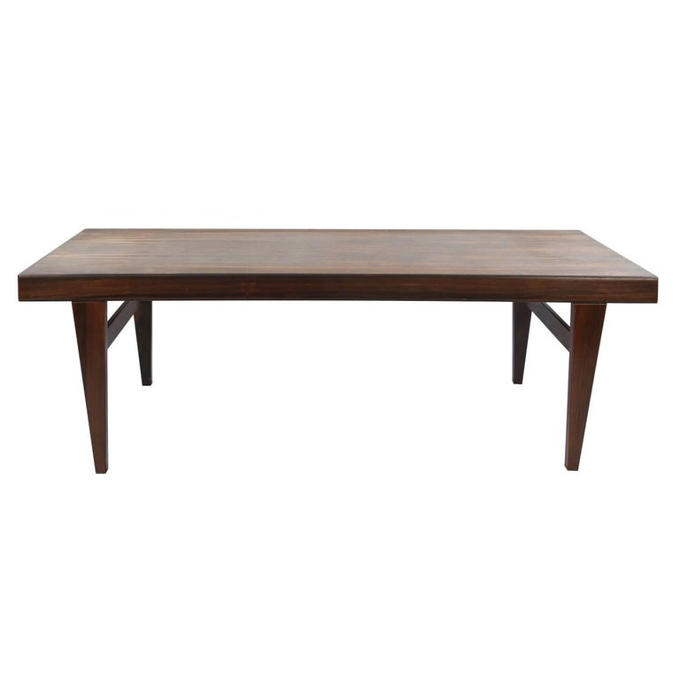 Danish Midcentury Extending Rosewood Coffee Table For Sale At 1stdibs