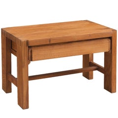Pierre Chapo Side Table in Solid Elm