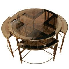 Nest of Tables Maison Jansen Style
