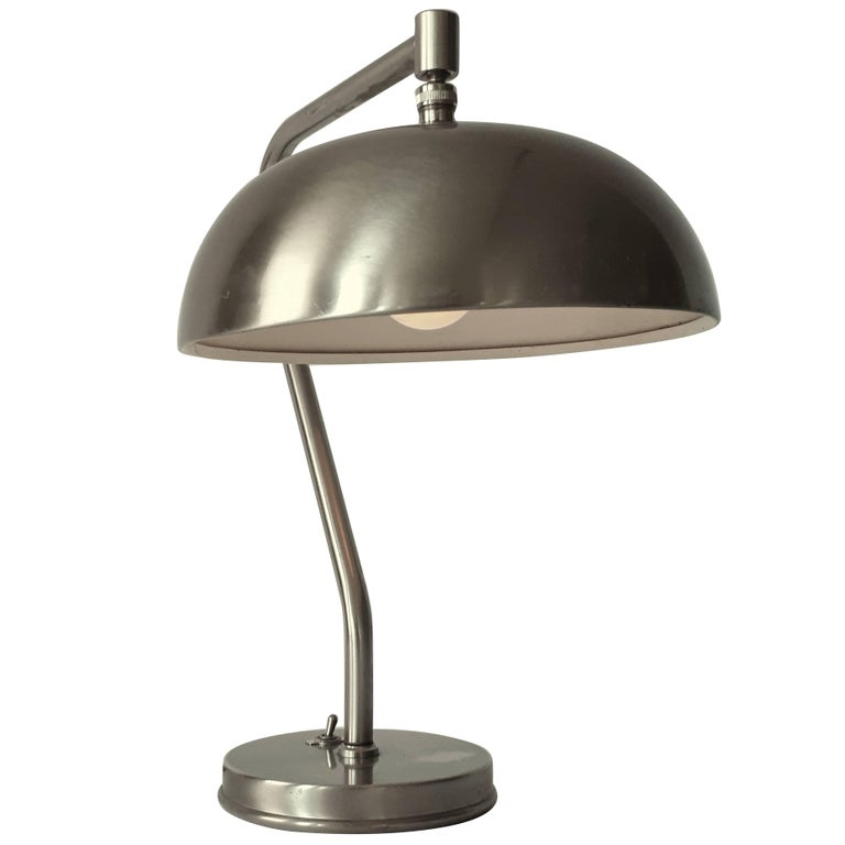1950s laquered brushed steel table lamp usa for sale at 1stdibs 1950s laquered brushed steel table lamp usa for sale aloadofball Gallery