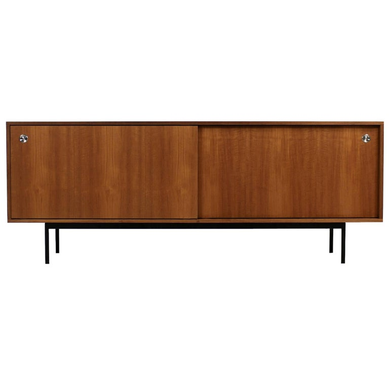minimalist teak sideboard nathan lindberg design cane. Black Bedroom Furniture Sets. Home Design Ideas