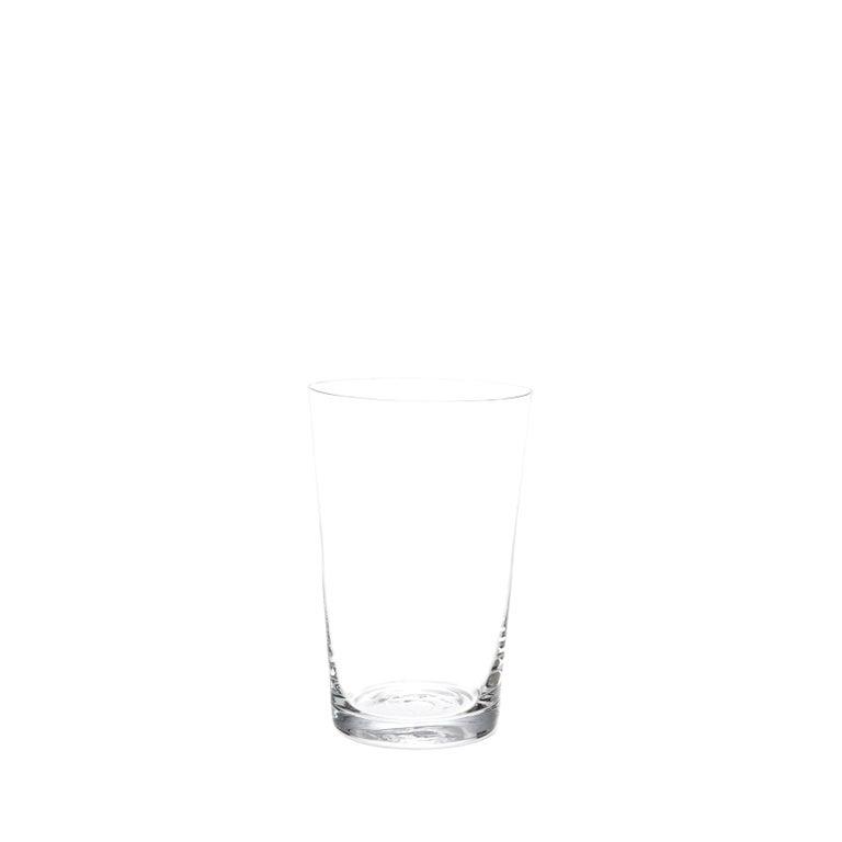 Set of Two Deborah Ehrlich Simple Crystal Red Wine Glasses, Handblown in Sweden
