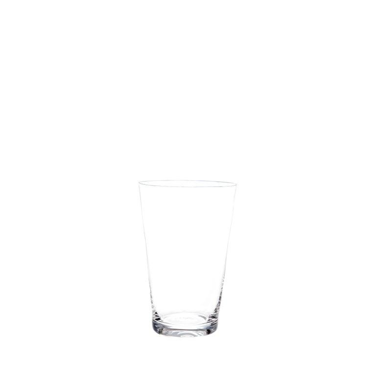 Set of Two Deborah Ehrlich Simple Crystal White Wine Glasses Handblown in Sweden