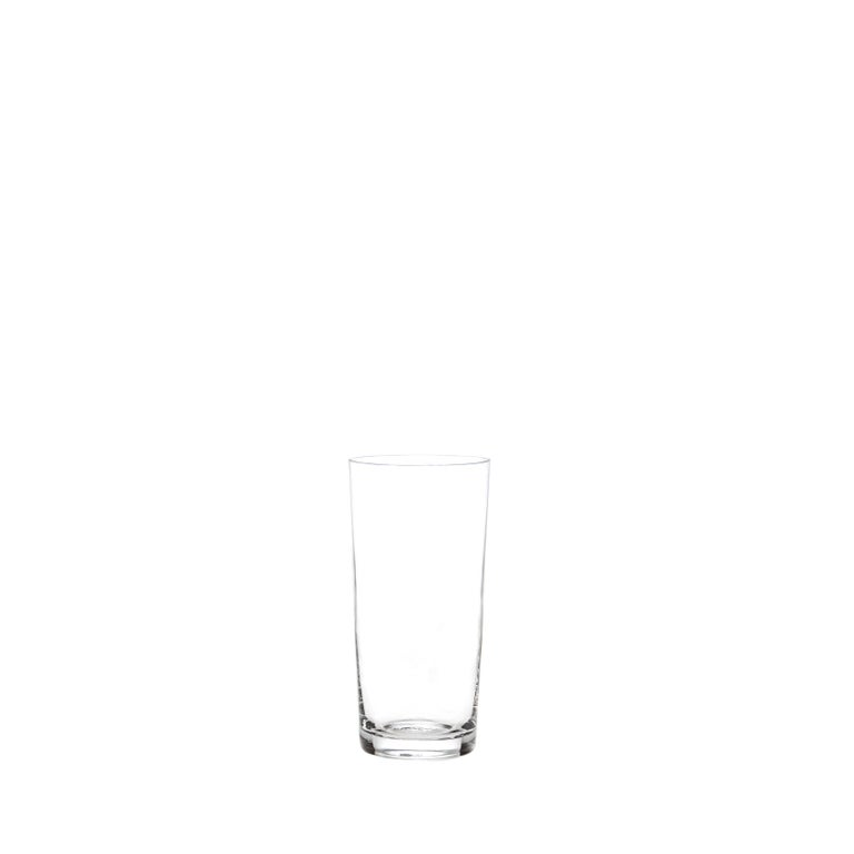Set of Two Deborah Ehrlich Simple Crystal Shot Glasses, Handblown in Sweden