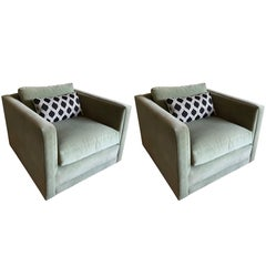 Pair of Charles Pfister for Knoll Armchairs