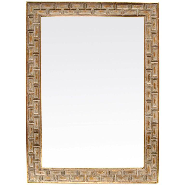 Large Midcentury Wall Mirror