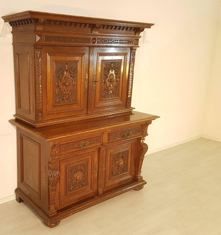 antique jugendstil buffet from 1900 for sale at 1stdibs. Black Bedroom Furniture Sets. Home Design Ideas