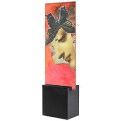 Eternal Recurrence #27 Limited Edition Print on deiNERI Acrylic Glass Stand