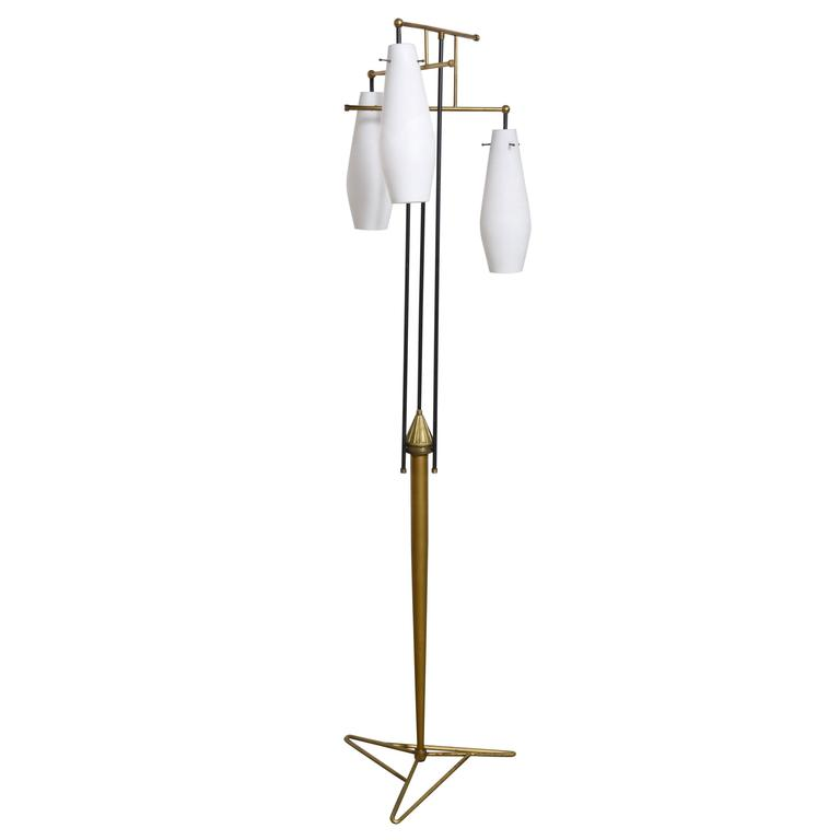 Modernist Floor Lamp in the Style of Stilnovo