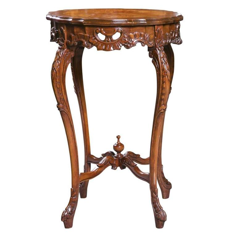 french louis xv style end table for sale at 1stdibs. Black Bedroom Furniture Sets. Home Design Ideas