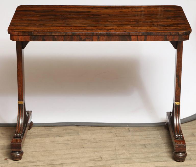 Rosewood regency table, UK, circa 1840.