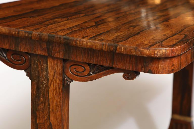 Rosewood Regency Table For Sale 1