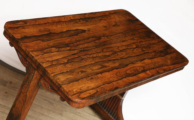 Rosewood Regency Table For Sale 4