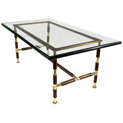 Mid-Century Italian Coffee Table by Max Ingrand for Fontana Arte, 1955