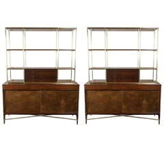 Paul McCobb for Calvin Group Wall Unit with Credenza Sideboard
