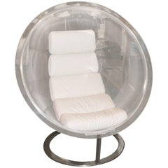 Christian Daninos Bubble Sphere Lucite Chair 1968