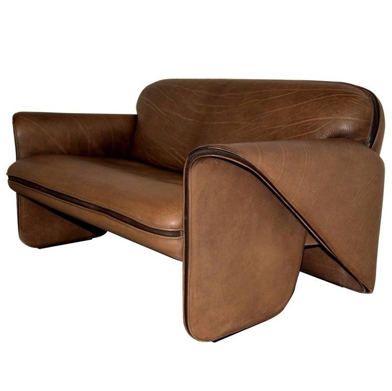 Vintage Swiss De Sede DS 125 Sofa Designed by Gerd Lange, 1978