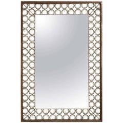 Marie Suri Iron and Bronze Ovation Mirror