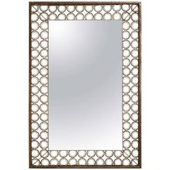 Marie Suri Iron and Bronze Ovation Mirror