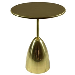Contemporary Brass Table, Flow Collection by Jonathan Amar
