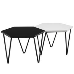 Gio Ponti for ISA Honeycomb Side Tables